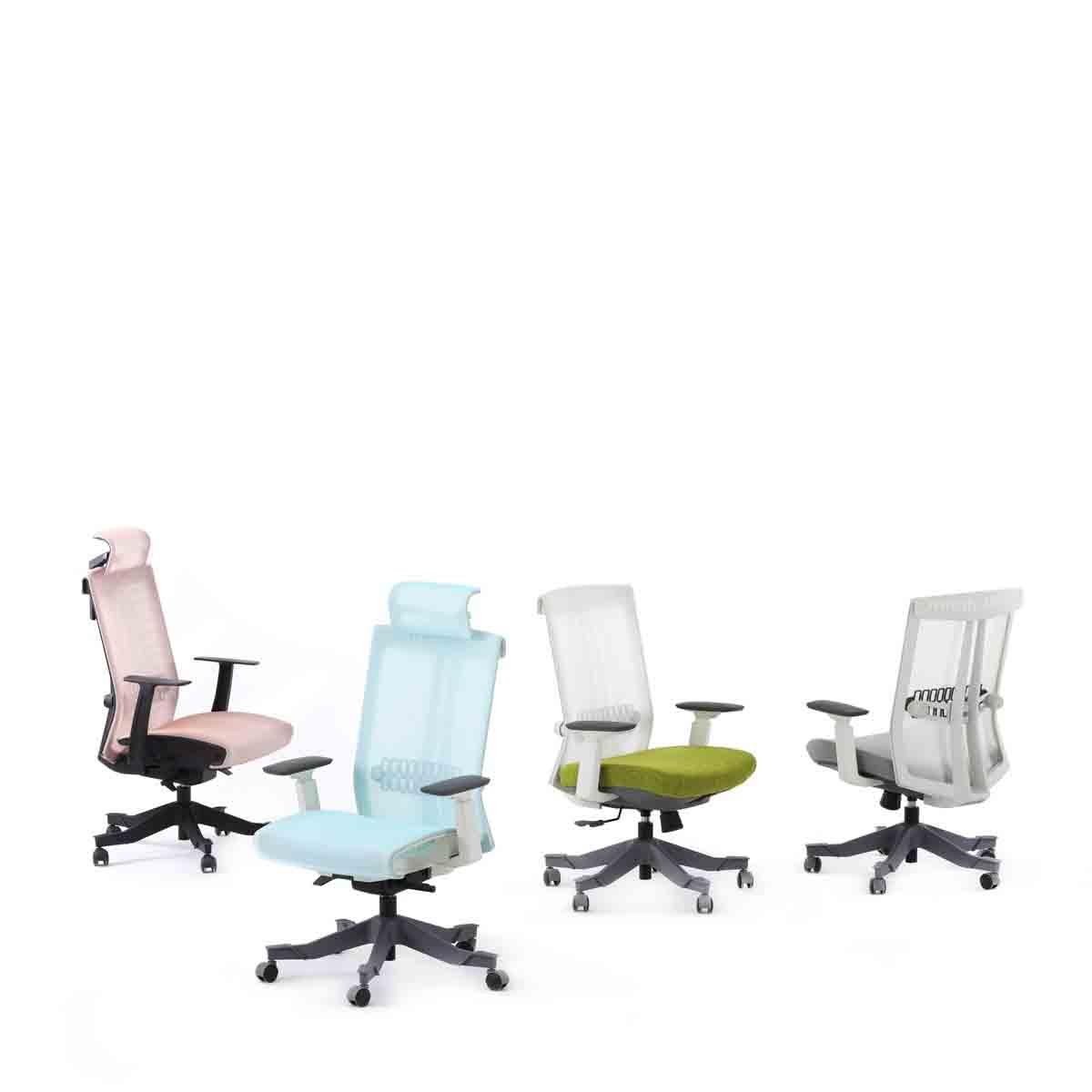 S6人体工学椅_玛拉蒂职员椅