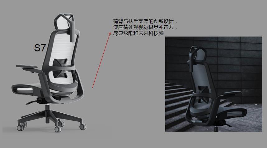 玛拉蒂S7人体工学椅