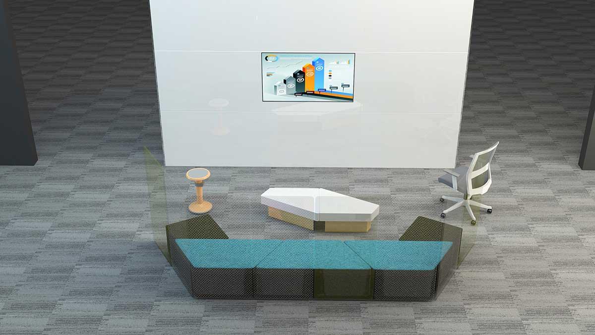 星沃提供办公空间整体设计方案