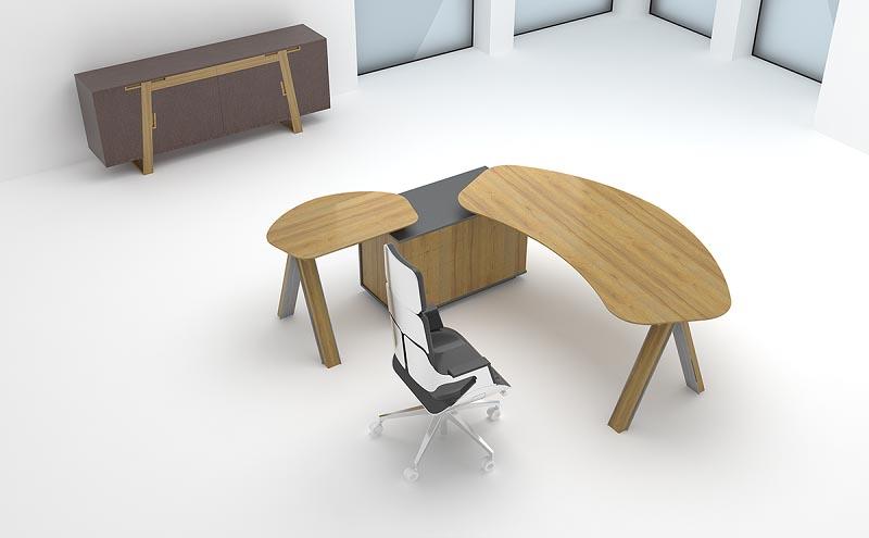 办公空间中办公桌的设计分析