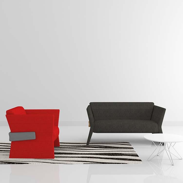 Tyra泰亚沙发_酒店大厅沙发_玛拉蒂高端沙发