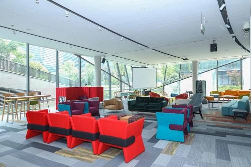 玛拉蒂MARATTI自由随性的办公空间设计
