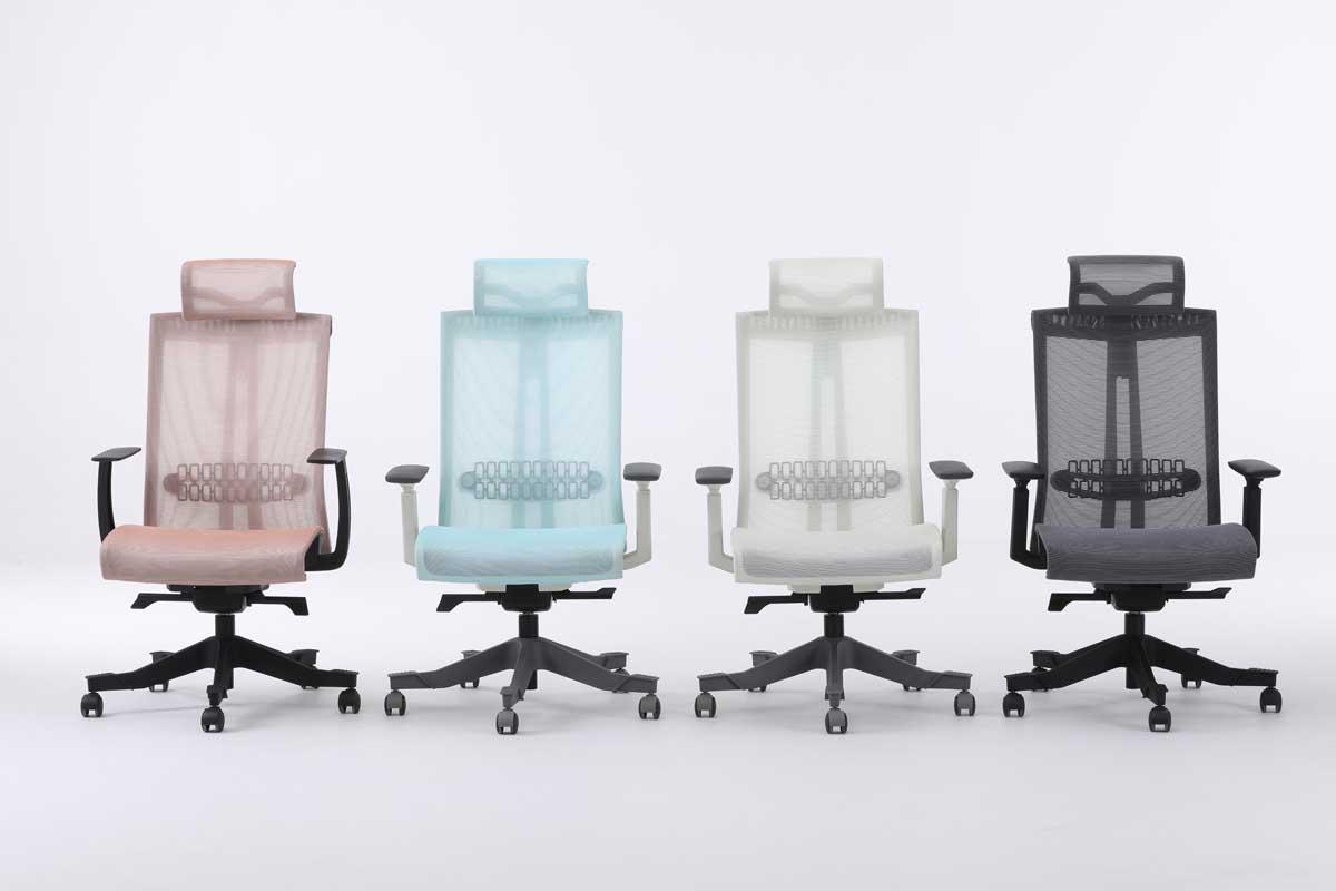 S6人体工学椅_玛拉蒂职员椅_郑州高端办公椅