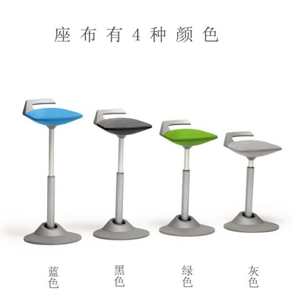 Aeris人体工学椅底座颜色