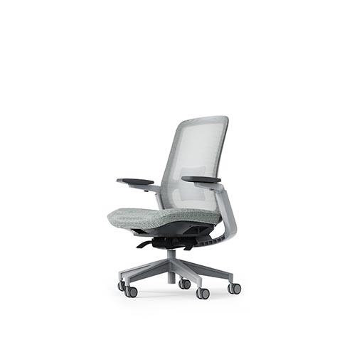XW-S7人体工学椅_高端网布转椅