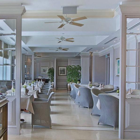 酒店餐厅_酒店露台餐厅设计