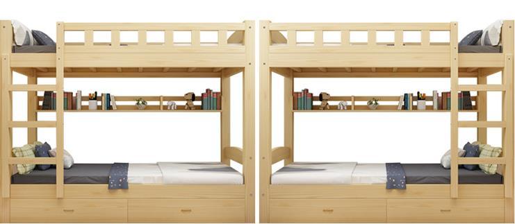 实木学生上下床和钢木学生上下床哪个好?