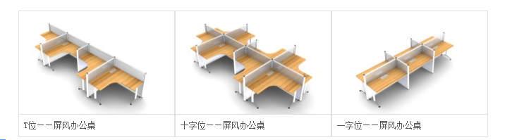 什么是屏风式办公桌?屏风式办公桌特点有哪些?