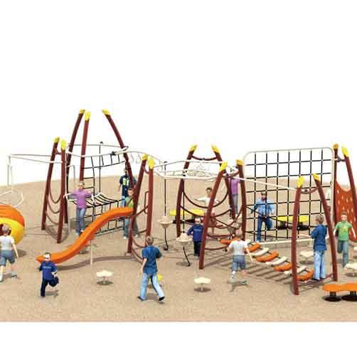 户外攀爬架_游乐场幼儿园景区户外攀爬架