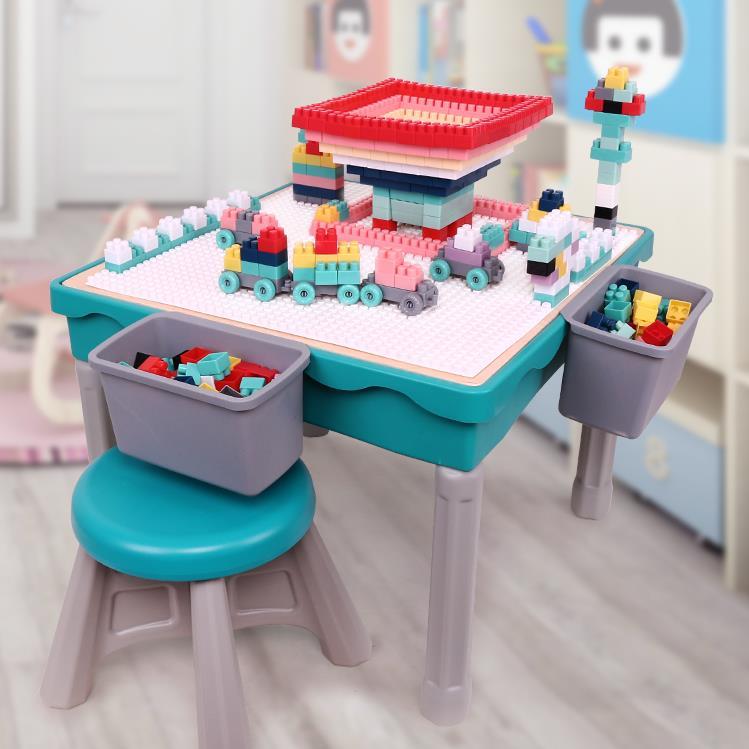 多功能积木学习桌_寓教于乐-儿童多功能