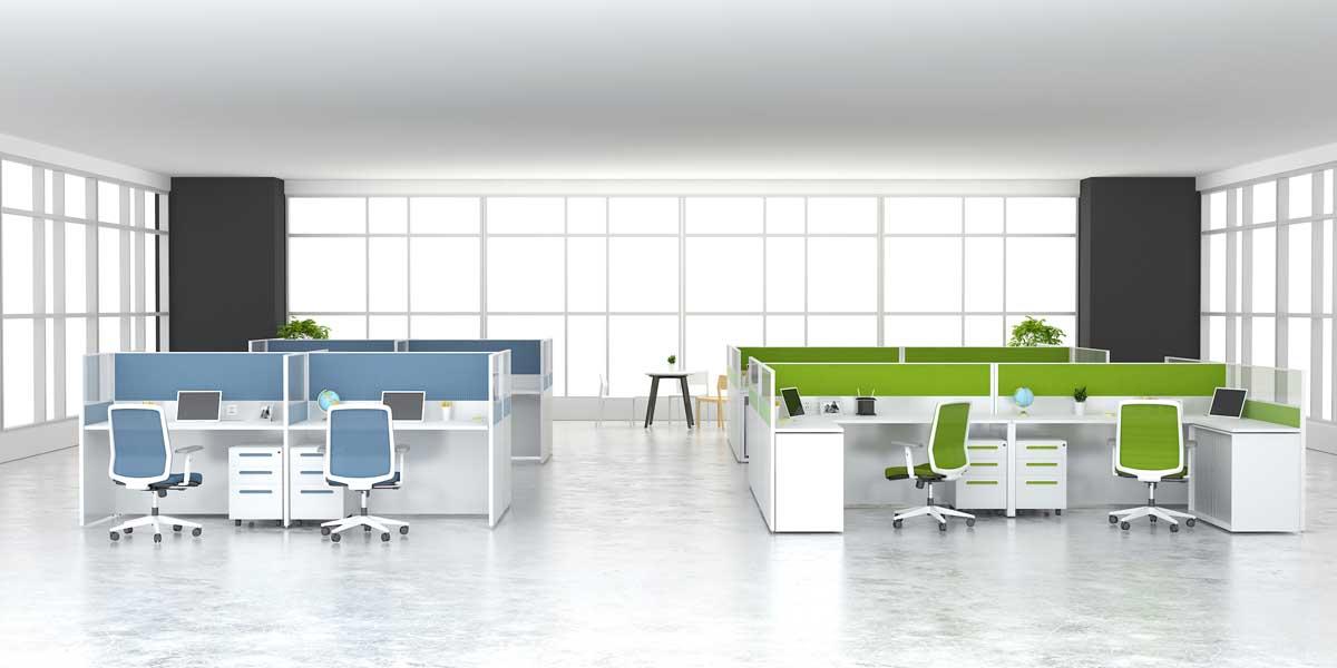 4个人用多大的办公桌合适?4人位办公桌尺寸是多少?