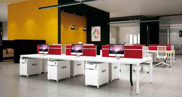 背靠背的办公桌间距多少合适?办公桌选什么材质好?