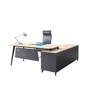 2米主管桌副台放在哪边合适? - 2米主管