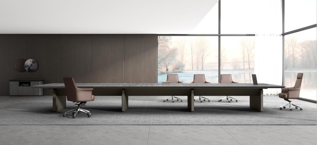办公老板桌的款式和材质有哪些?