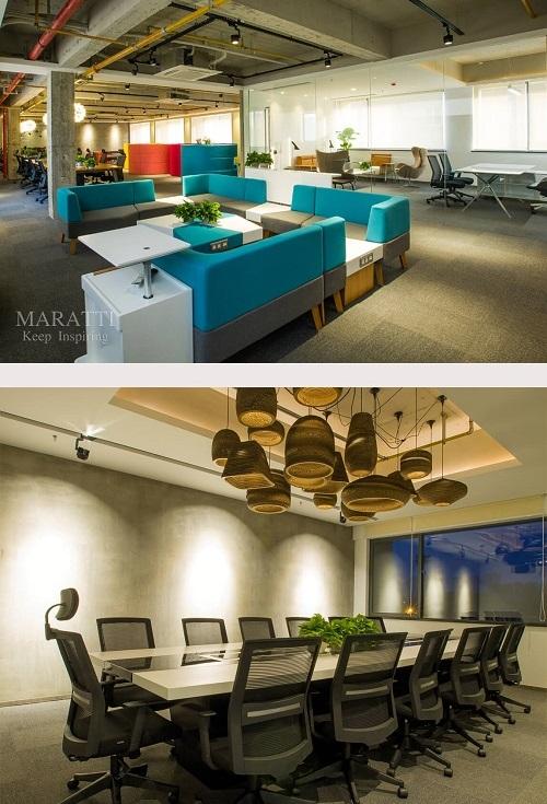 文化创意产业创业型团队量身定制的ALPHA办公空间
