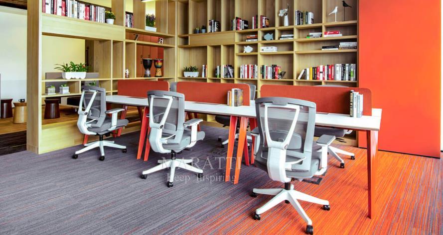 重构私密与协作的多元化办公空间格局