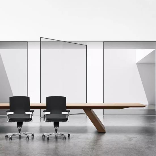 会议桌集合 | 这些长方形会议桌真的不错