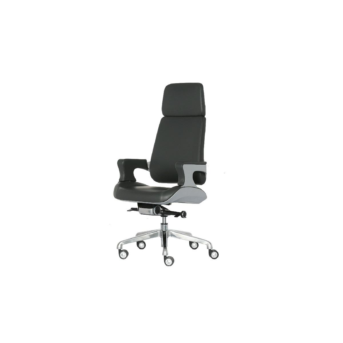 XW-18C人体工学椅 - 皮椅转椅