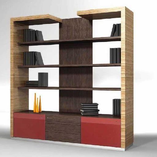 CE0木质书柜_板式文件柜