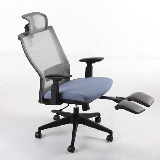 M5人体工学座椅_带脚踏职员椅