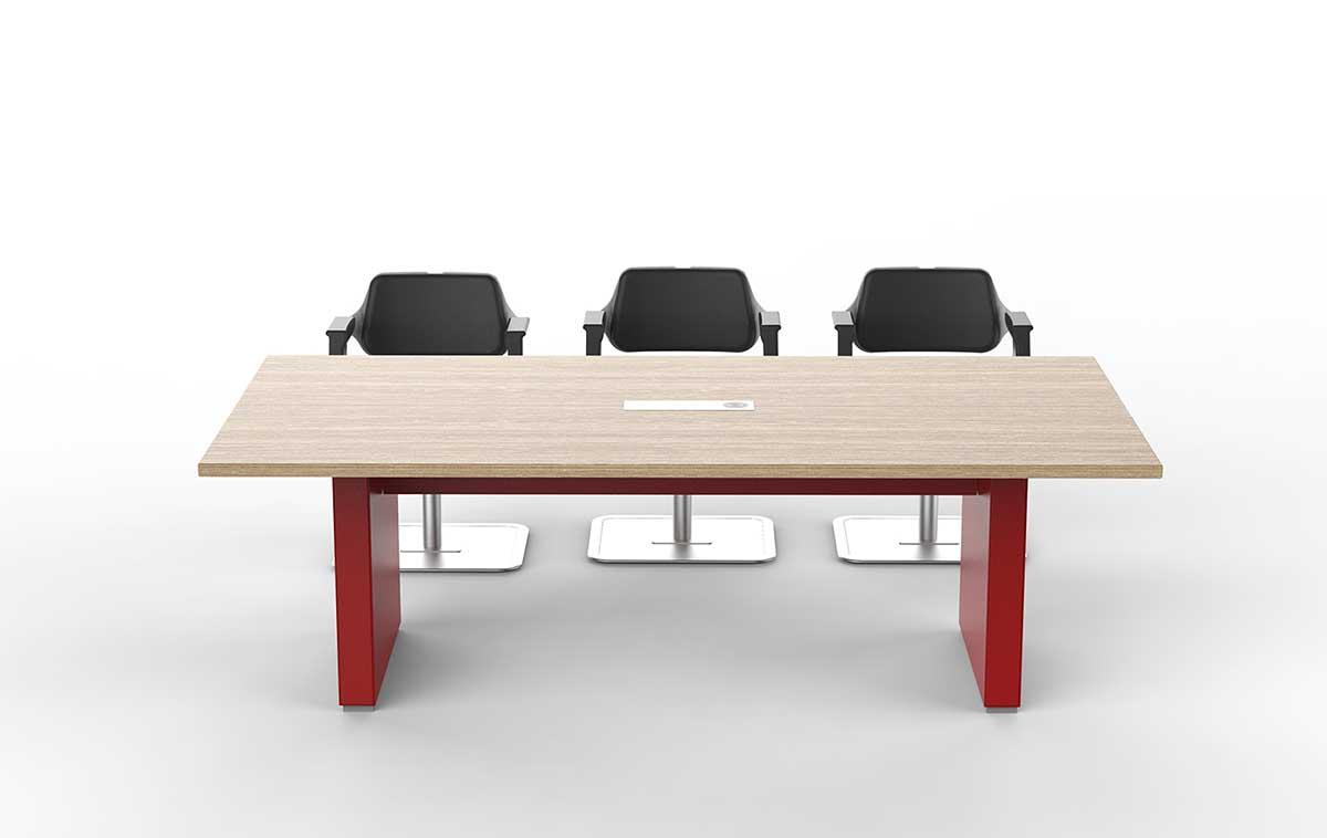 ARCO油漆会议桌_贴皮会议桌