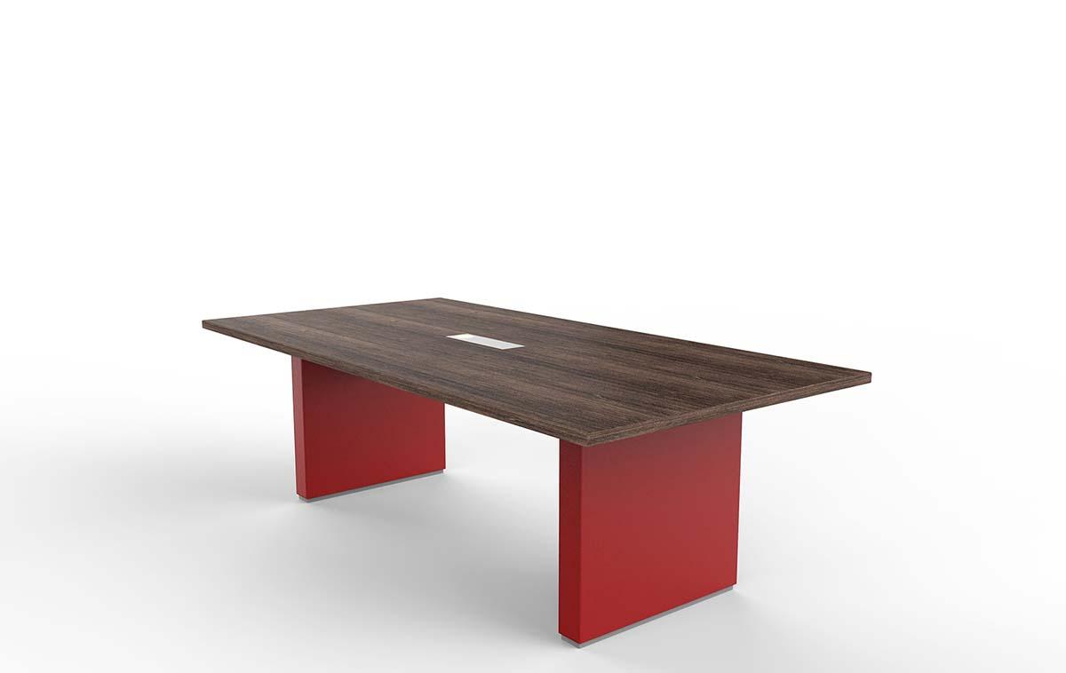 ARCO 3.6米油漆会议桌_贴皮会议桌