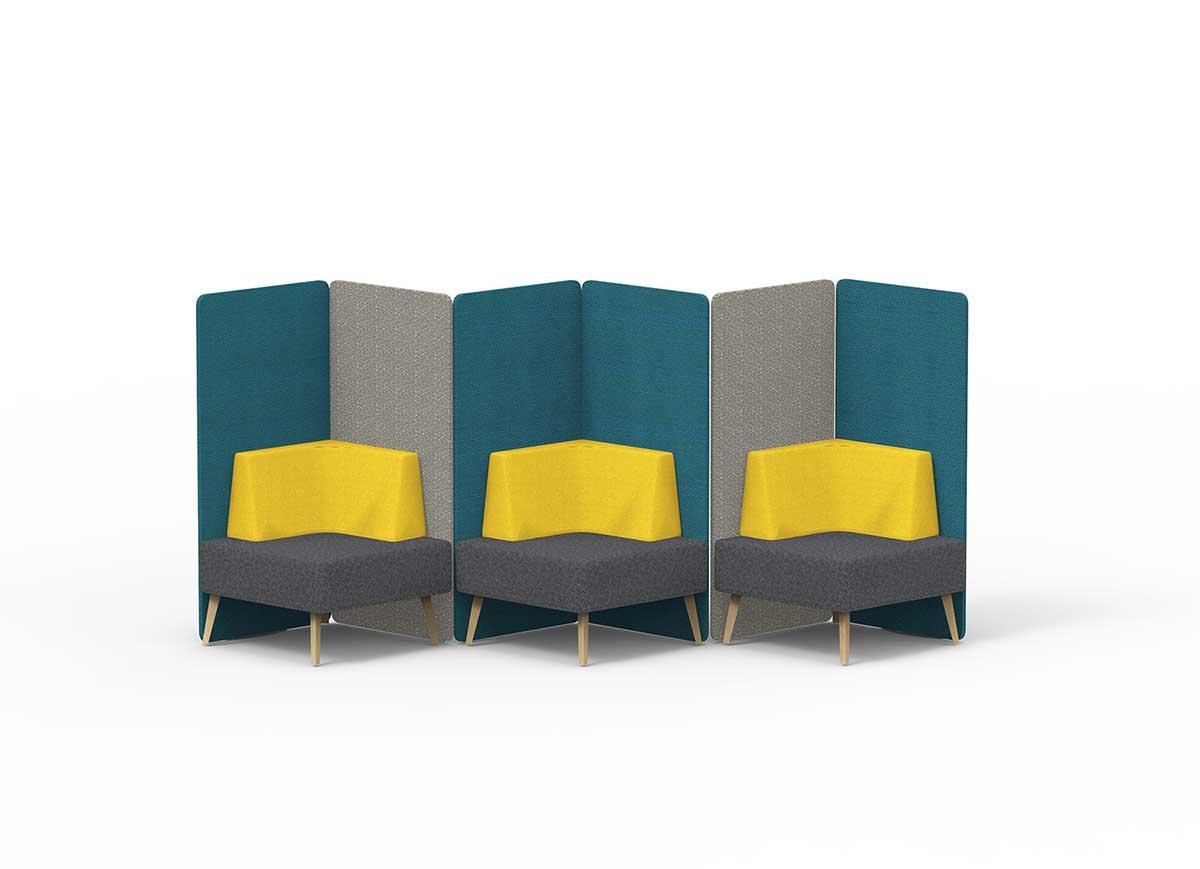 Trident Sofa工作岛沙发图片_办公休闲沙发
