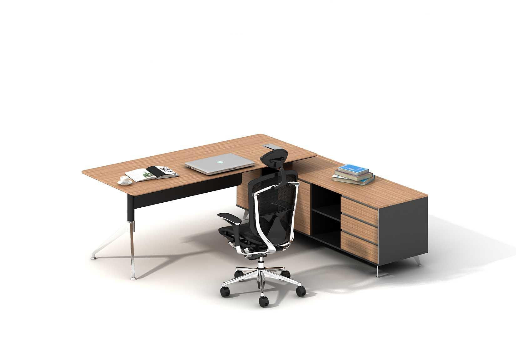 GL职员办公桌_板式办公桌
