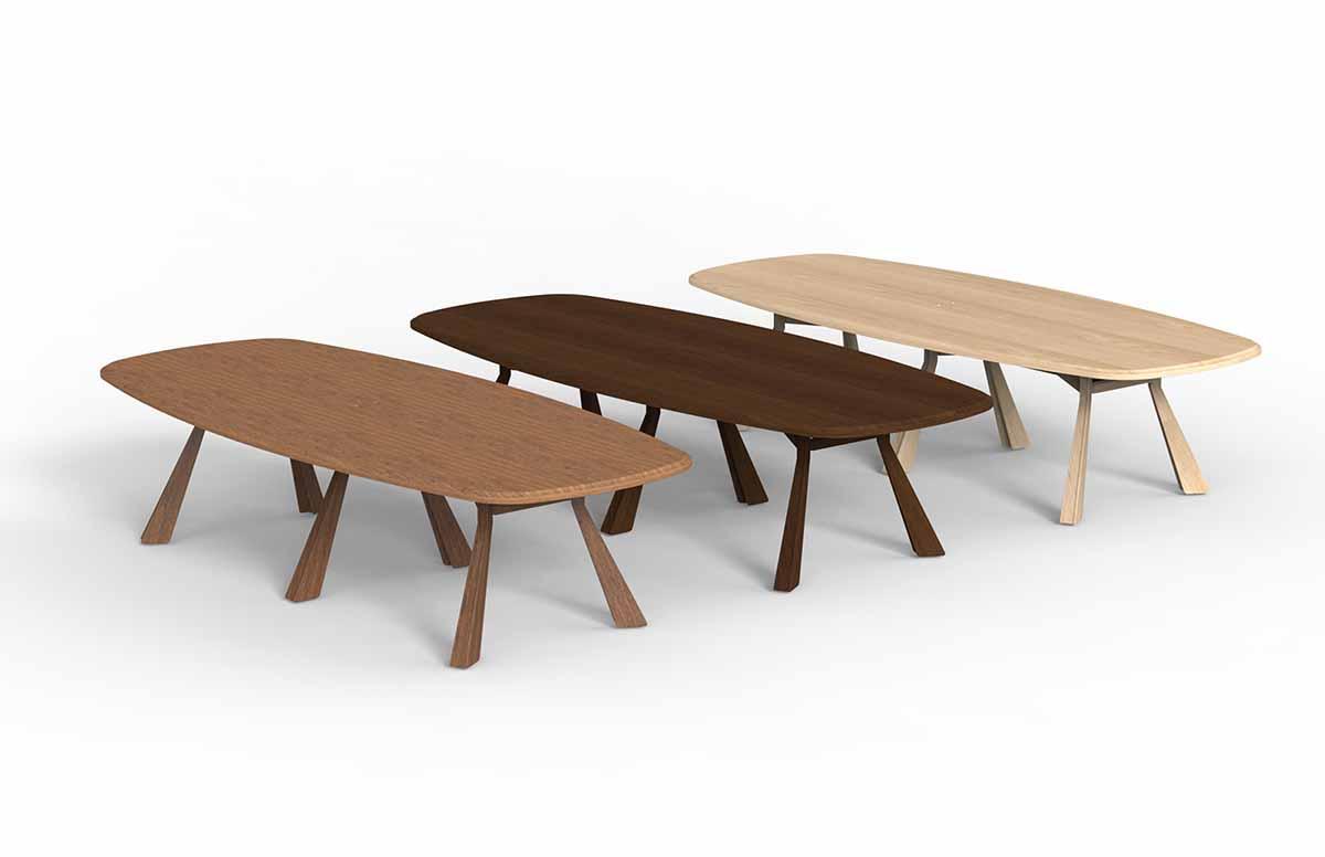 实木会议桌和普通会议桌之间的比较