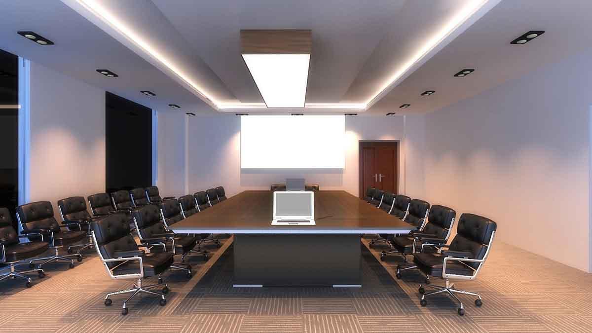 MT实木会议桌_高端会议桌图片