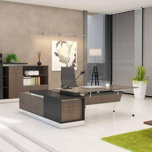 BinkT经理桌 - 2.2米经理办公桌_2.2办公桌用多大的显示屏比较合适?