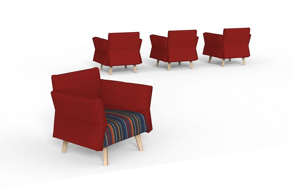 Unicat折耳沙发图片_休闲办公沙发