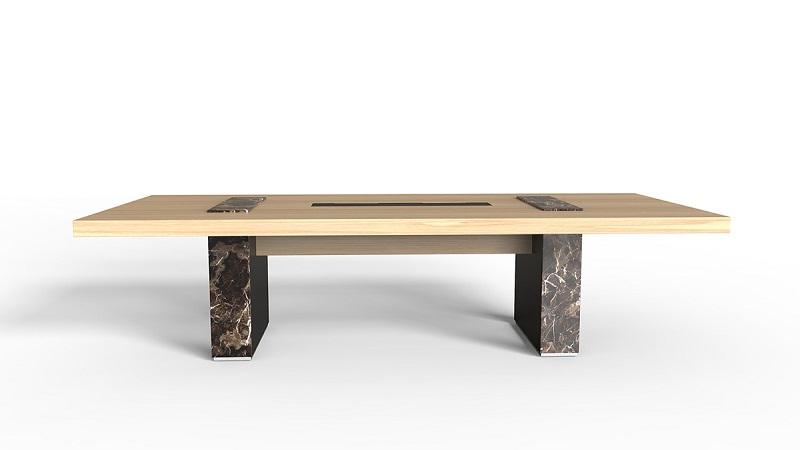 Arthur实木会议桌_高端会议桌