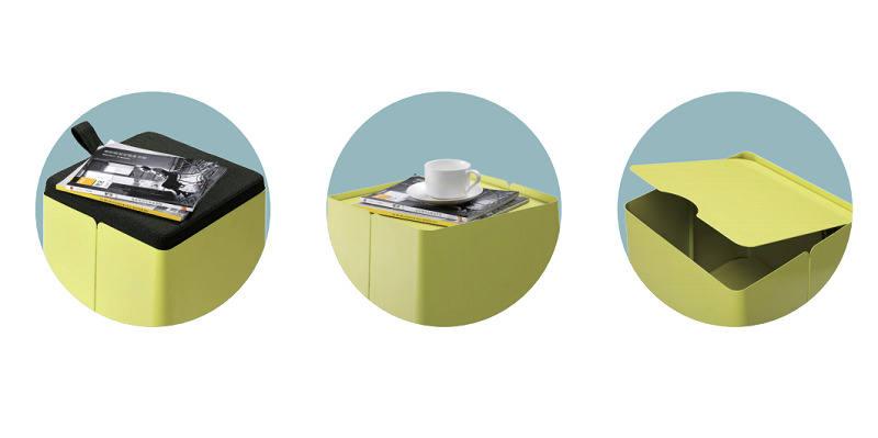 TANK带滑轮文件柜_创意家具- 如何利用视错觉拓展空间