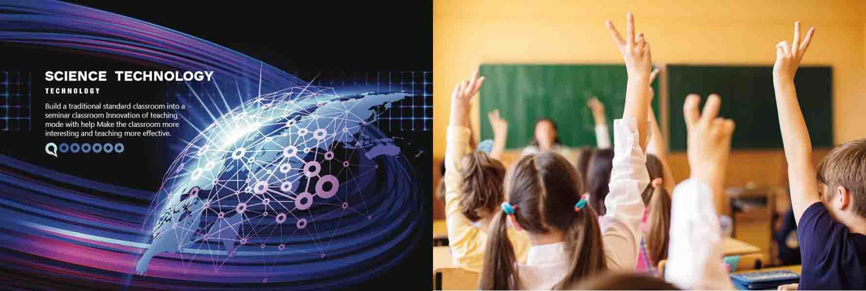 郑州玛拉蒂智慧教室——像家的学校