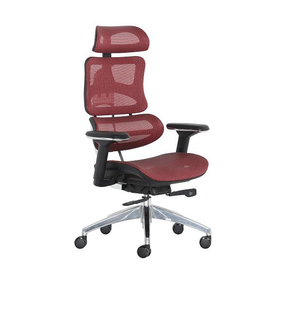A137人体工学座椅_升降办公椅