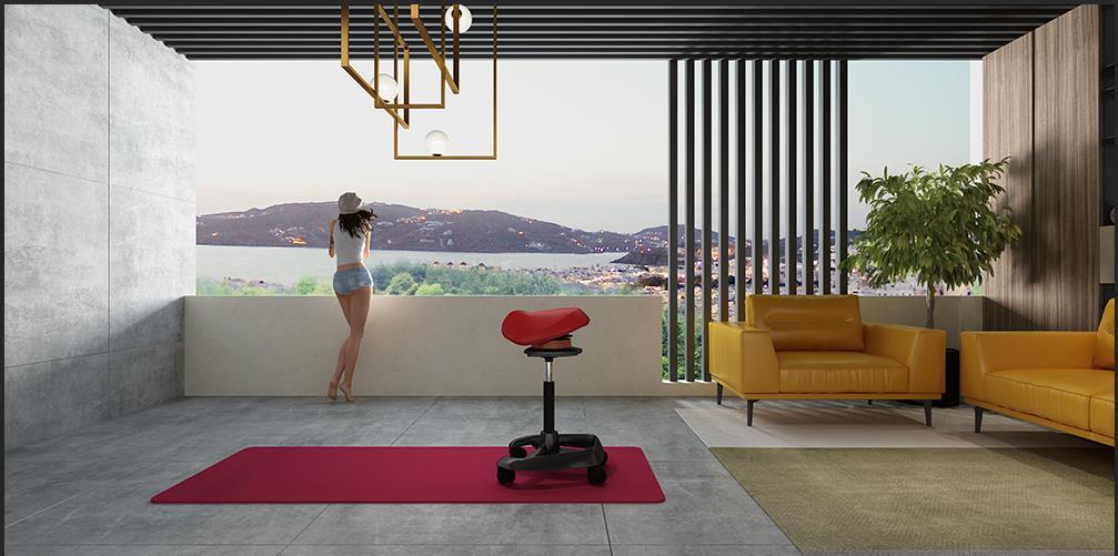 玛拉蒂摩伽椅带给空间的5种表情