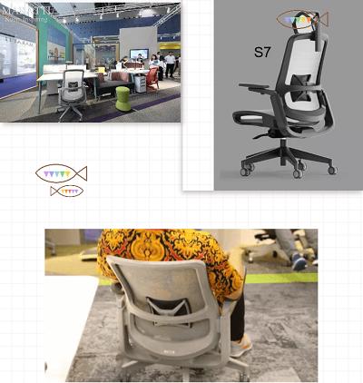 S7人体工学椅_老板椅_网椅