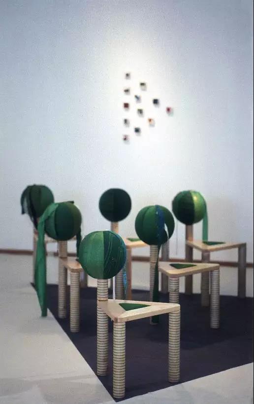 玛拉蒂摩伽「重见」共享办公家具-地球树