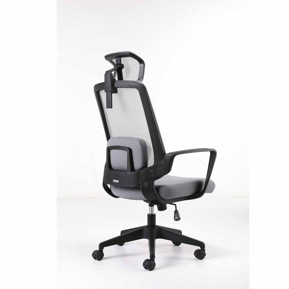 C4职员椅_人体工学椅_高背网布椅