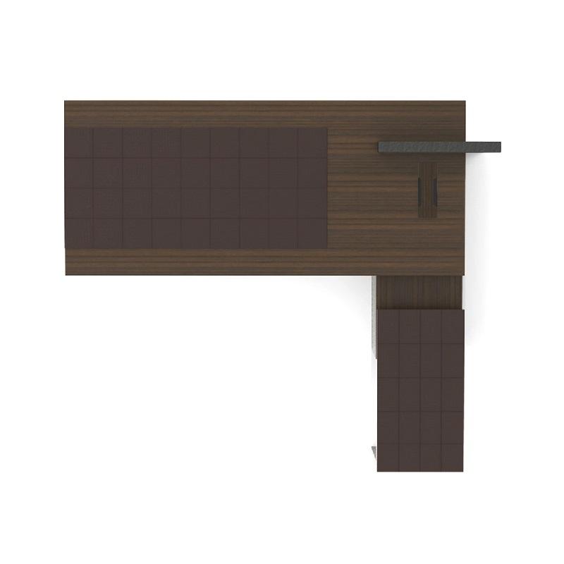 Caeser凯撒3米实木办公桌_3米班台 - 3米班台上摆什么盆景好看?