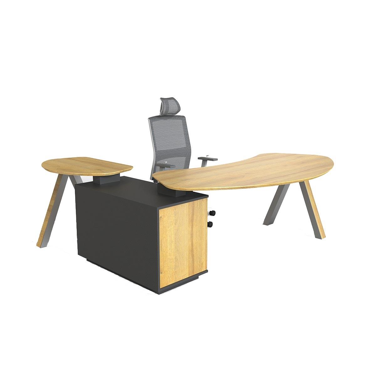 Viva2.2米实木办公桌 - 如何装饰自己的办公桌?