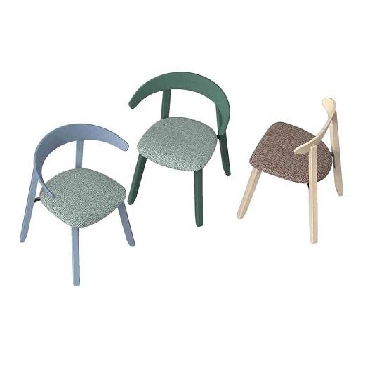 Luna半月椅_港风休闲办公椅