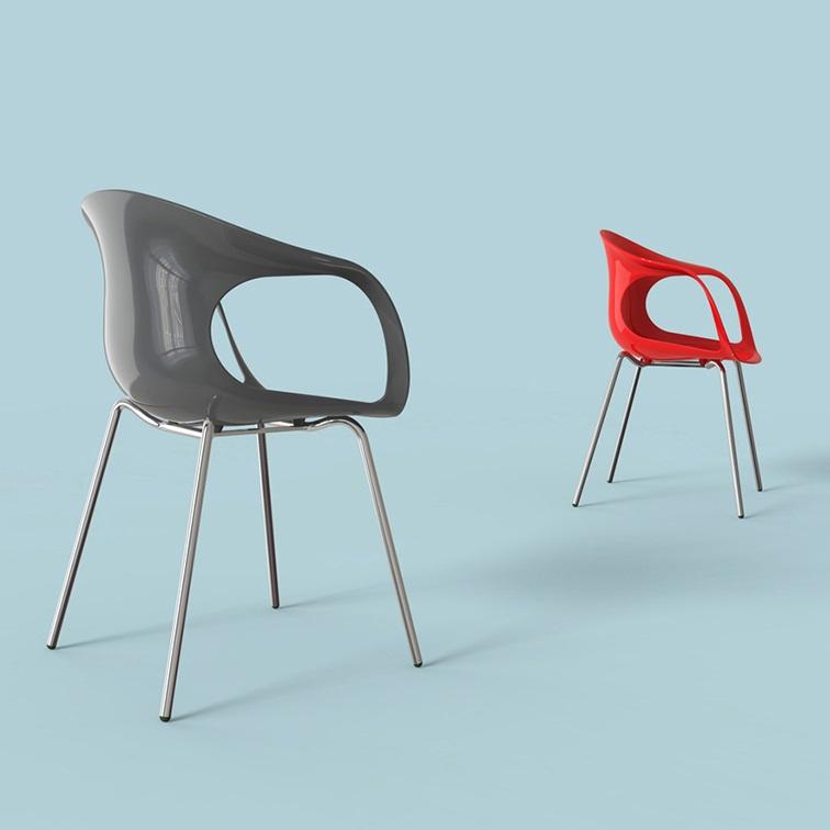 Rita休闲椅_办公空间设计椅