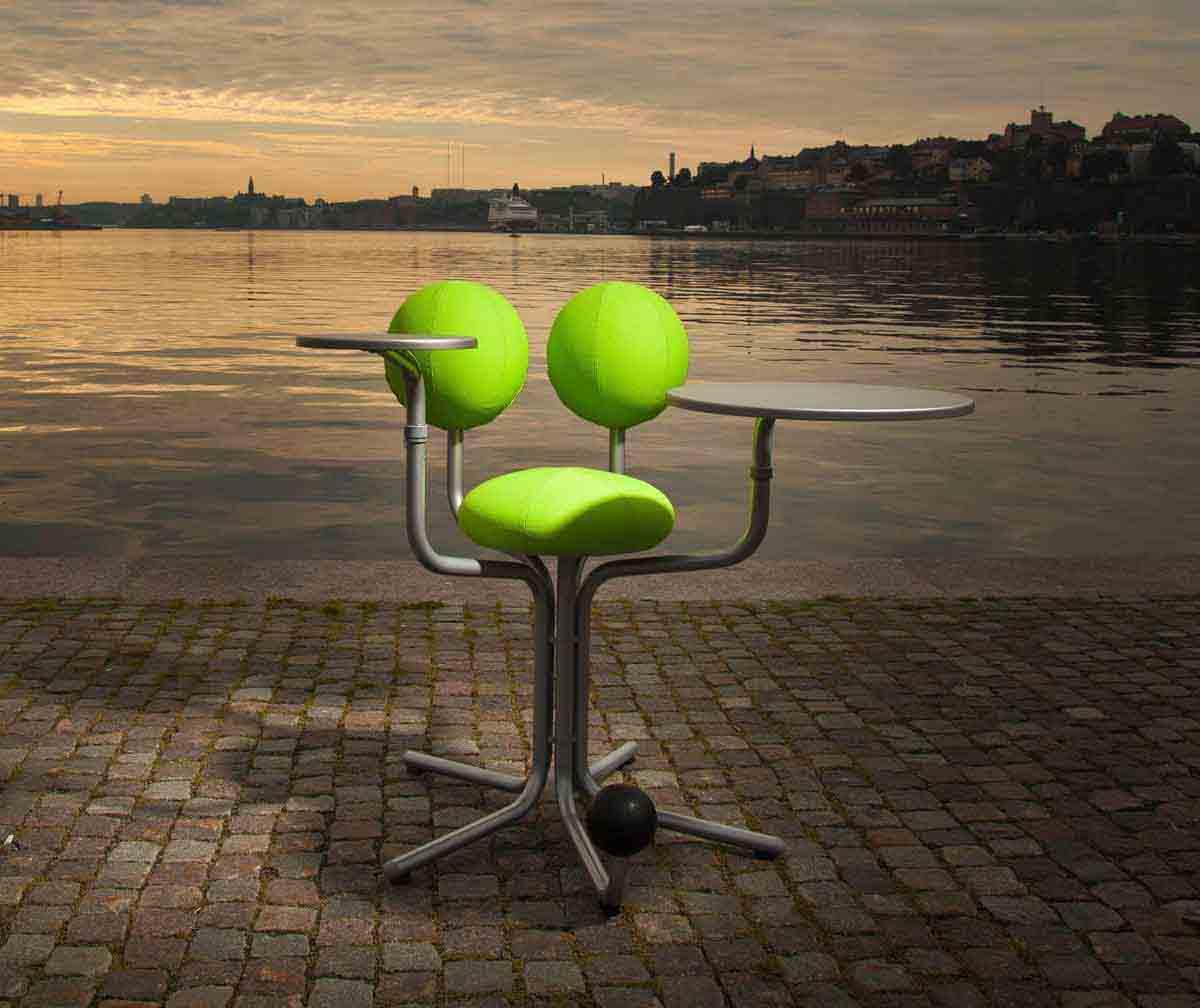 Globe Tree挪威地球树_休闲办公椅