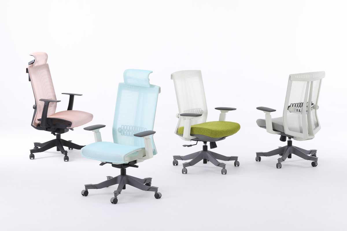 S6人体工学椅_高端职员椅