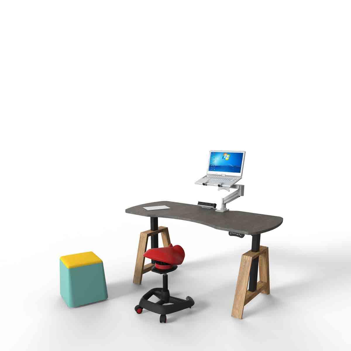 Ricco智能升降桌_人体工学升降桌