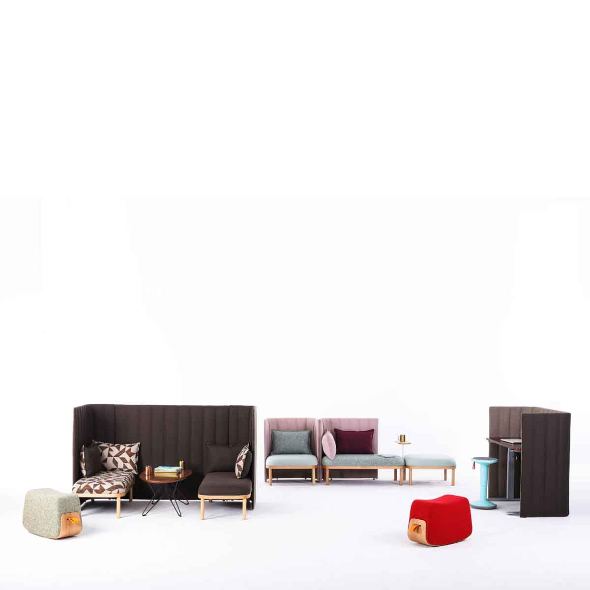 DASH-N屏风沙发_办公空间沙发图片