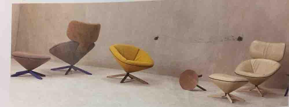 这款旋转人体工学座椅,灵感来自乌龟壳