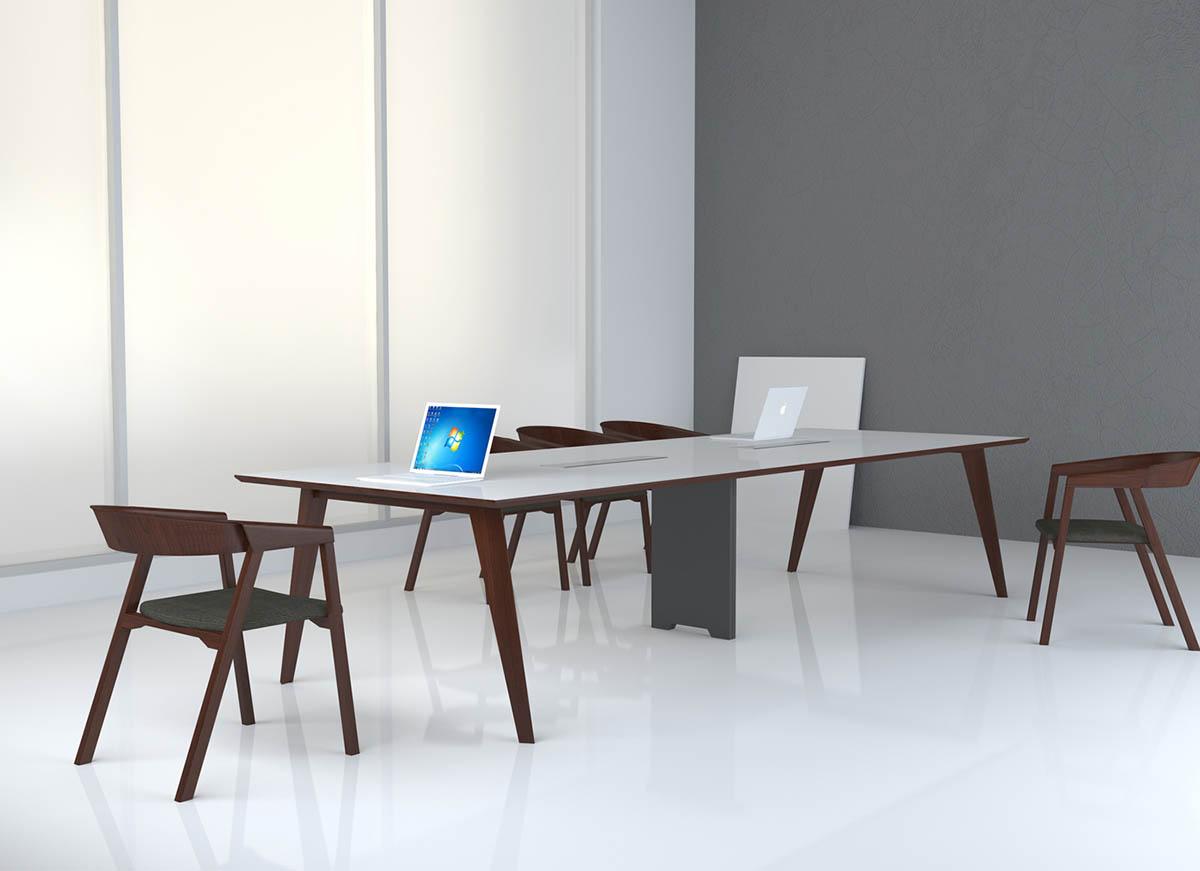 Trident会议桌_板式大会议桌